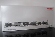 Märklin H0 26472 Historischer Personenzug der Schweizer-Nord-Bahn SNB neu / OVP
