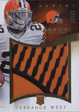 2014 Immaculate Collection Gloves Logos Terrance West /30 Browns!