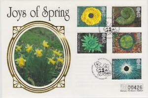 **  MERCURY SILK COVER SPRINGTIME FIRST DAY COVER MARCH 14TH 1995 **