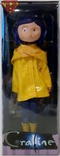 "CORALINE (Raincoat & Boots) 7"" inch Poseable Bendy Fashion Doll Figure Neca 2017"