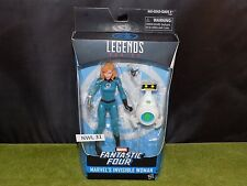 Marvel Legends Fantastic Four 6inch MARVEL'S INVISIBLE WOMAN (NWL 31)