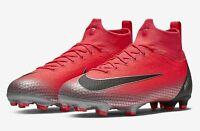 $185 Kids Nike Jr Superfly 6 Elite CR7 FG Soccer Cleats sz 5Y Crimson AJ3086-600