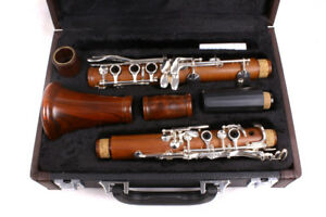 New Clarinet rosewood Bb Key 17Keys Nice Sound nickel Plated  #c6