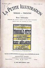 Revue LE TROUBLE-FETE Edmond Fleg 1913 LA GLOIRE AMBULANCIERE Tristan Bernard