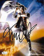 Michael J Fox Back to the Future Autograph Signed 8x10 Photo JSA COA #9