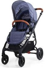 Valco Baby Snap Ultra Trend Compact Fold Lightweight Single Stroller Denim