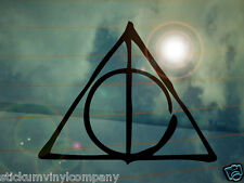 Deathly Hallows Car Sticker/Decal **Harry Potter**