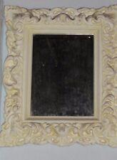 Spiegel Stuckgips Barock Art Wandspiegel Dekoration Deko NEU Facettenschliff 03