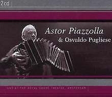 Live at the Royal Carre Theatre von Astor Piazzolla   CD   Zustand sehr gut