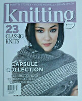 Knitting Magazine Issue 204 March 2020, 23 Classic Knits, Capsule Collection NEW
