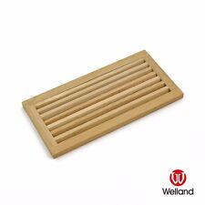 "WELLAND 8"" x 16"" White Oak Wood Register Cold Air Return Wall Vent 8x16 Grille"