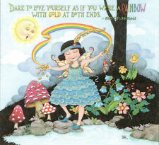 Dare To Love Yourself Fairy-Handcrafted Magnet-Using art by Mary Engelbreit