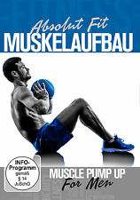 DVD Muscle Pump For Ment , Absolut Fit: Muskelaufbau