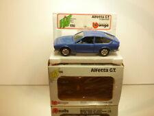 BBURAGO 0136 ALFA ROMEO ALFETTA GT - BLUE 1:24 - VERY GOOD IN BOX