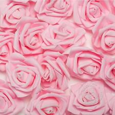 50-200PCS Foam Fake Roses Artificial Flower Wedding Bride Bouquet Party Decor