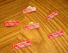 Miller Beer Pins (Qty. Of 6)