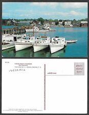 Old Canada Postcard - New Brunswick - Fishing Boats