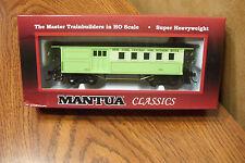 MANTUA CLASSICS 1860 COMBINE WOODEN PASSENGER CAR NYC & HUDSON  #416 HO SCALE