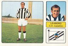 LEANDRO # CD.CASTELLON CROMO CARD CAMPEONATO DE LIGA 1973-74 FHER