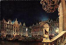 B48136 Bruxelles Grand Place la nuit   belgium