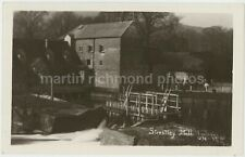 Streatley Mill Real Photo Postcard, C070