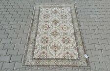 Turkish 4x7,Vintage Rug,Oushak,anatolian,GREEN,Carpet,Bohemian,handmade,wool