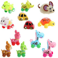 Cartoon Cute Animals Clockwork Wind Up Toys Running Plastic Kids Children Gift