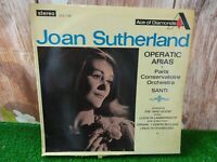 "SDD 146 - JOAN SUTHERLAND - Operatic Arias -VG  Condition 12"" LP vinly Record"