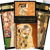 KLIMT TAROT KARTEN GOLDEN POCKET EDITION DECK ESOTERIC FORTUNE LO SCARABEO NEU