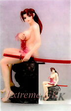 1/7 Samurai Girl in towel Onsen Vers. ( Rock Include ) Unpainted Resin Model Kit