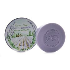 La Savonnerie De Nyons – Soap With Lavender in Round Metal Tin 100 G