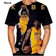 Kobe Bryant Los Angeles Legend #24 Black Mamba T-shirt- Size Large