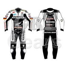 Honda Repsol Motorcycle Racing Biker Leather Suit Motorbike Cowhide custom