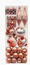 Valery Madelyn Shatterproof Christmas Balls Ornaments 40pcs(Copper Gold)
