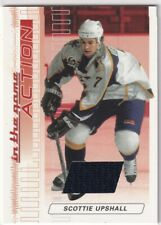 03/04 BAP IN THE GAME ACTION SCOTTIE UPSHALL RED BASE JERSEY #87