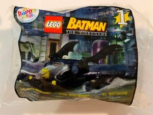 2008 McDonald's Lego Batman The Video Game # 1 Bat Boat Toy Happy Meal Toy