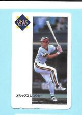 1993 Teleca ? Ichiro Suzuki Rookie Phone Card Onix Blue Wave #4 READ!!!