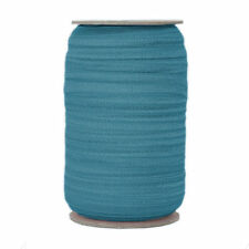 100 Yard Spool - Fold Over Elastic - Pacific Blue - 5/8in Wide - FOE