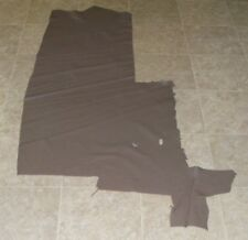 (DCE8972) Part Hide of Grey Brown Cow Leather Hide Skin