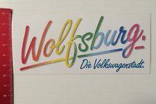 Aufkleber/Sticker: Wolfsburg - Die Volkswagenstadt (19031659)