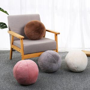 Cute Round Ball Shape Pillow Cushion Sofa Throw Pillow Room Decoration Plush Toy