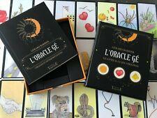 ESOTERIQUE COFFRET CARTES L ORACLE gé GRIMAUD 61 lames + livre NEUF BLISTER