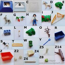 PLAYMOBIL 4344 ANIMAL CLINIC VET FENCE SQ TABLE BOTTLE WARMER CALF PONY-CHOICE