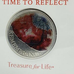 2018 RM BUNC £5 Coin Pack Remembrance Day Poppy A Time To Reflect NEW Sealed / B