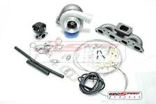 GT35 T3 TOP MOUNT MANIFOLD + TURBO CHARGER KIT For 240SX S13 S14 S15 SR20