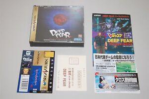 Deep Fear Japan Sega Saturn game