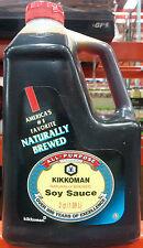 Kikkoman Soy Sauce ~ Naturally Brewed ~ 64 Ounces