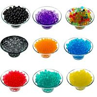 2500 Water Aqua Soil Crystal Bio Gel Ball Beads Wedding Vase Centerpiece Decor