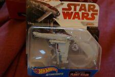 Disney Hot Wheels Star Wars Starships Resistance Bomber W/ Stand