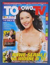 "CATHERINE ZETA-JONES mag.2010 Poland Leonardo DiCaprio,Harrison Ford,""Lost"""